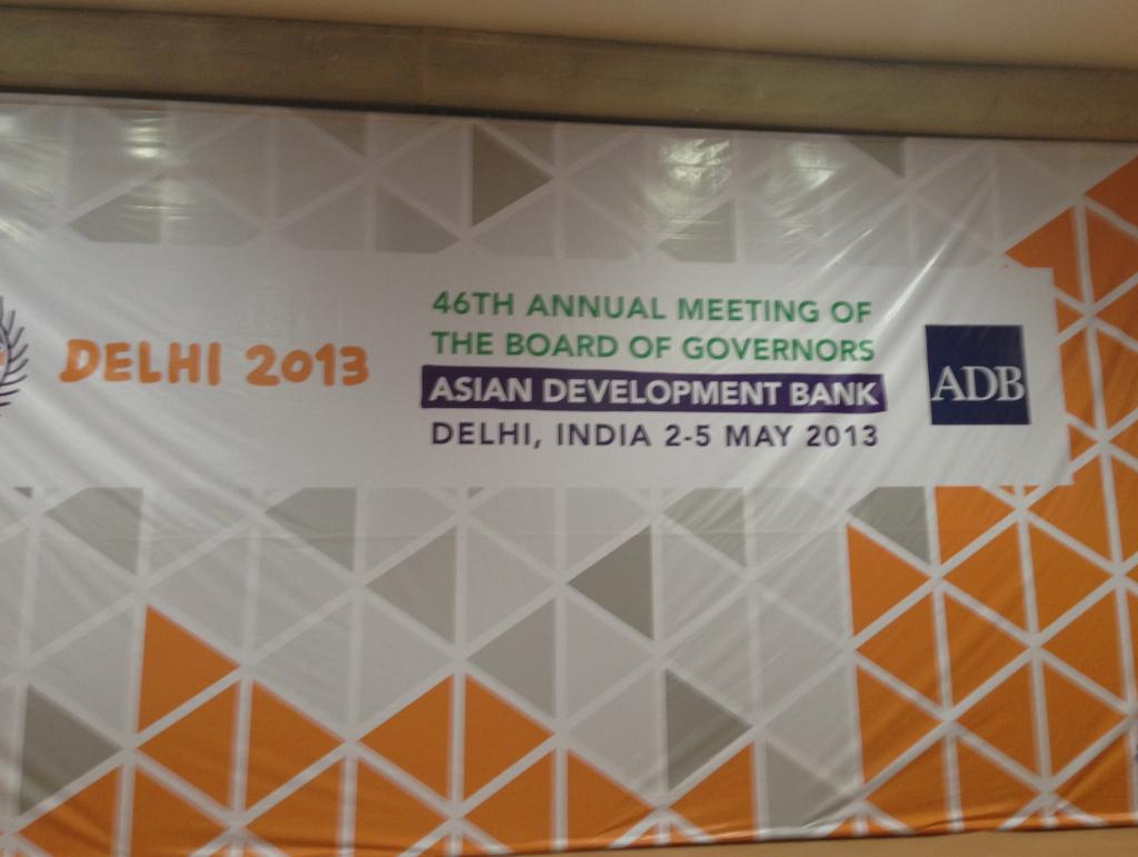 ADB event Delhi 2013