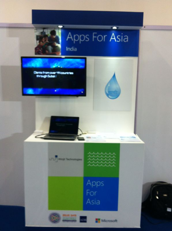 Winjit Setup at Apps for Asia