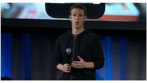 Zuckerberg at event