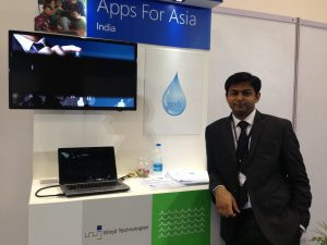 Abhijeet Junagade, CEO and Co-founder of Winjit Technologies at Apps for Asia