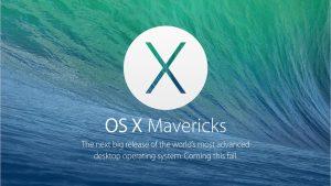 OS X Mavericks WWDC 2013