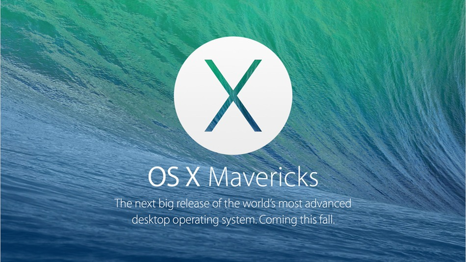 OS X Mavericks WWDC 2013